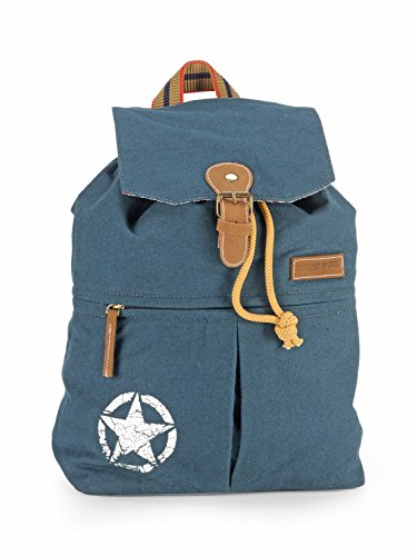 The House of Tara 17 inchs x 12 inchs Canvas 23 Ltrs Travel Backpack
