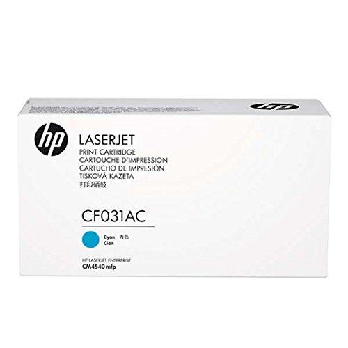 HP LaserJet CF031AC Cyan Print Cartridge Toner