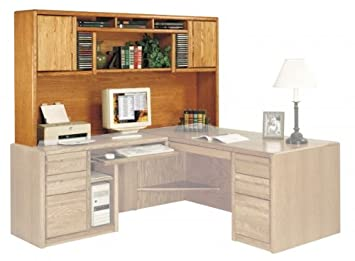 Kathy Ireland Home By Martin Contemporary Deluxe Hutch - Fully Assembled