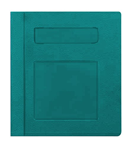 PDC Healthcare CBS1T Poly Binder Side Open, 3-Ring, Blank Front, Teal