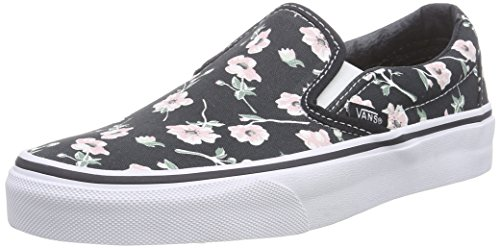 68a7643c919 Vans Unisex Classic Slip-On (Vintage Floral) Blue Graphite Skate Shoe 7 Men  US   8.5 Women US