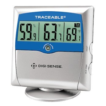 Digi-Sense Traceable Digital Thermohygrometer with Dew Point and Calibration