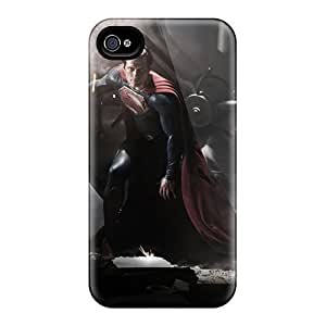 New Premium Man Of Steel 2013 Movie Skin Excellent Fitted Case For Sam Sung Note 2 Cover