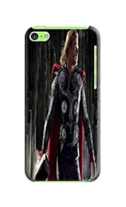 RebeccaMEI New cool fashionable designed TPU Chris Hemsworth Thor phone protection case/cover For iphone 5c