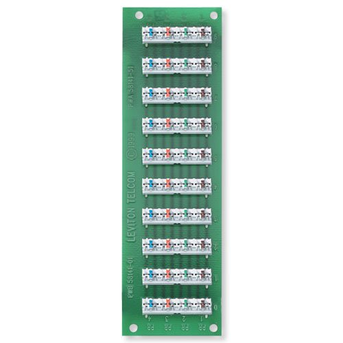 Leviton R00-47603-110 1 X 9 Bridged (Bridged Telephone)