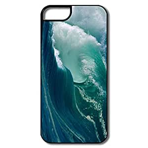 Custom Make Amazing Design Full Protection Blue Wave IPhone 5/5s Case For Her
