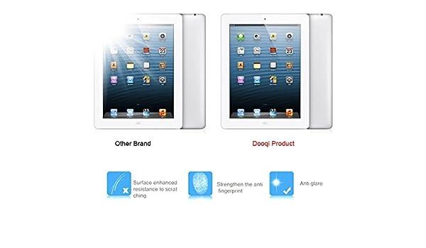 Dooqi Premium Tempered Glass Screen Protector for iPad Mini 4