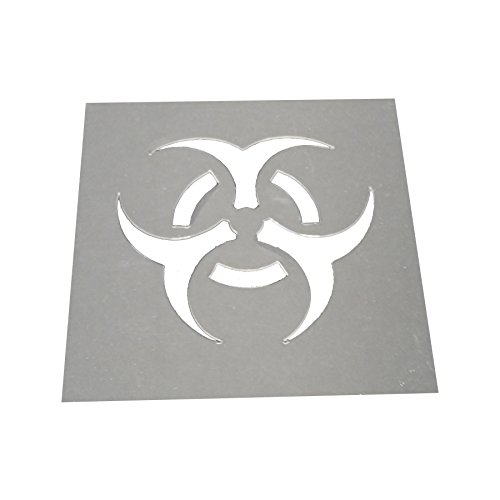 [PetPaint BioHazard Professional Stencil Insert, Large] (Biohazard Costumes)