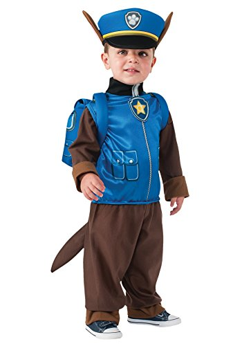 UHC Boy's Paw Patrol Chase Outfit Funny Theme Toddler Child Halloween Costume, Child S (4-6)