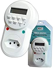 Timer Digital Bivolt Temporizador 9 Programas Liga E Desliga
