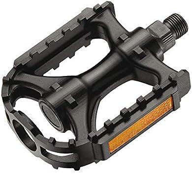 XERAMA - Pedales de Bicicleta de Montaña Ultralight Nylon MONOBLOCK MTB/BTT con Reflex