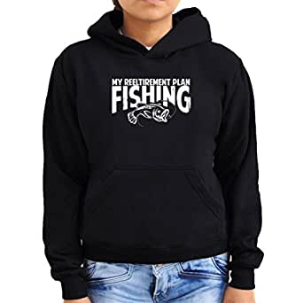 My Reeltirement Plan Fishing Women Hoodie