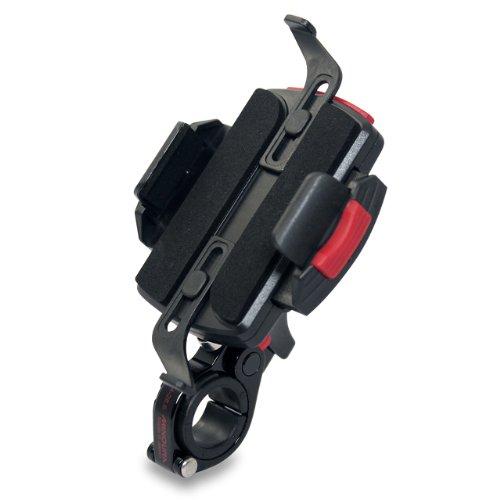 Minoura Handle Bar Phone Grip, Black, 22.2-28.6 - Bar 27mm