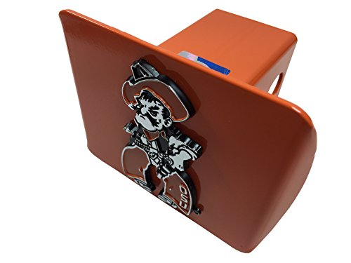 (Oklahoma State METAL Hitch Cover (Pistol Pete on orange hitch))