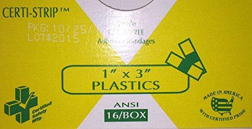 607 - Certi Strips Plastic 1
