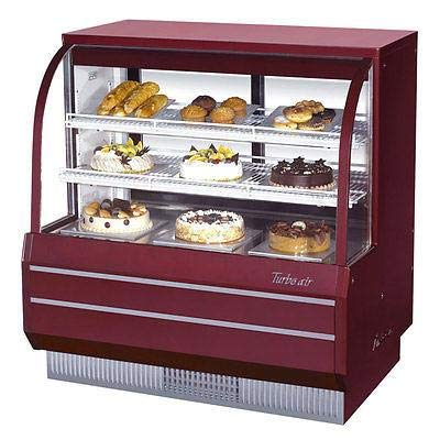 (Turbo Air TCGB-48-R-N Curved Glass Bakery Case)