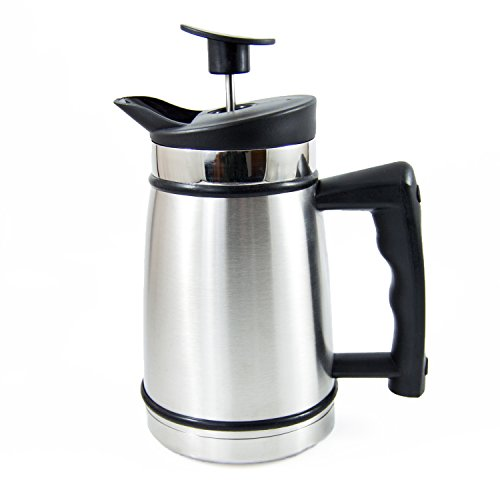 French Press Table Top Coffee and Tea Maker Carafe with Brü