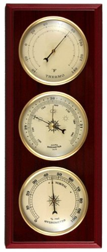 Ambient Weather WS-YG315 Cherry Finish Dial Traditional Weather Station