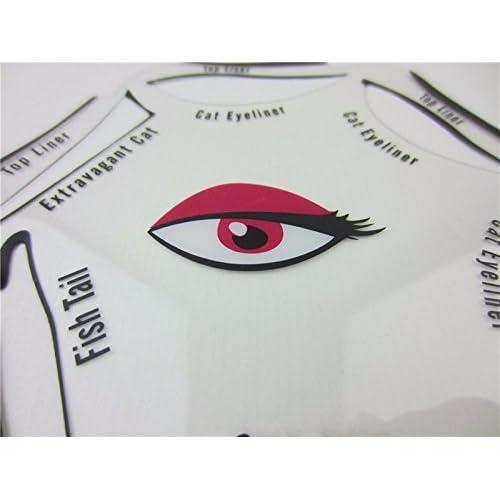durable modeling Eyeliner Stencil Winged Eyeliner Stencil - 6 in 1 ...