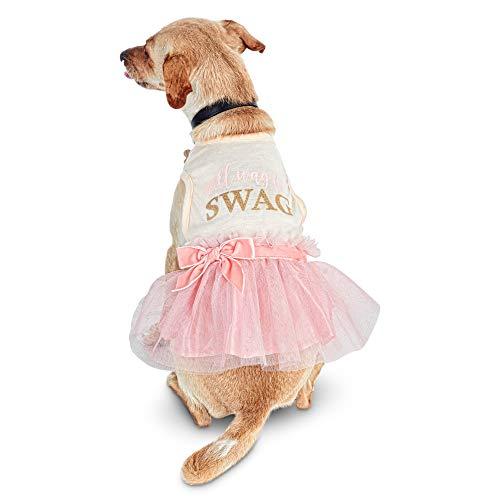 (Bond & Co. Will Wag for Swag Dog Dress, Medium)