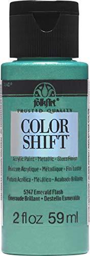 FolkArt 5247 Color Shift Paint 2 Ounce Emerald