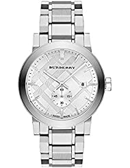 Burberry BU9900 42mm Silver Steel Bracelet & Case Anti-Reflective Sapphire Mens Watch