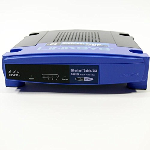 Cisco-Linksys BEFSR41 EtherFast Cable/DSL Router with 4-Port