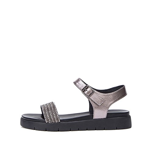 de de S Dulces Sandalias Zapatillas Ocasionales Sandalias DHG de Sandalias Moda de Verano Mujer Color Planas de Punta 1UwT40q