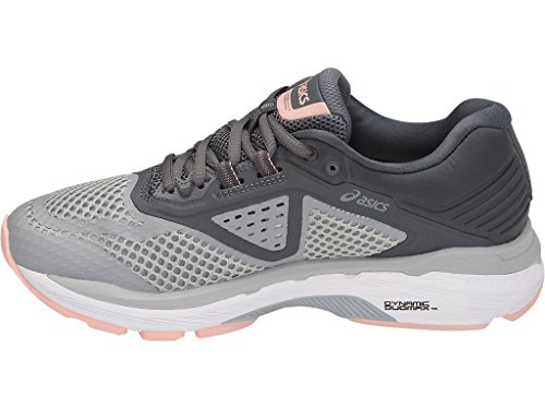 ASICS Women's GT-2000 6 Running Shoe, Mid Grey/Silver/Carbon, 5 M US by ASICS (Image #4)