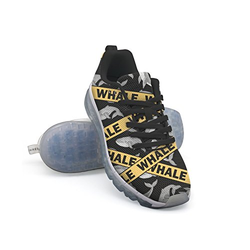 from china low shipping fee outlet 100% authentic GDDF HXB Whale Men's Air Cushion Running Shoes Black for sale online 0dll9x
