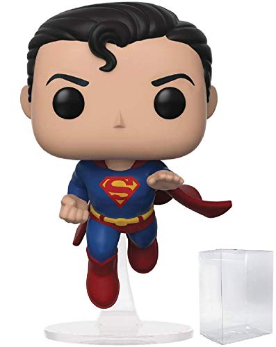 DC Comics: Flying Superman 80th Anniversary Funko Pop! Specialty Series Exclusive Vinyl Figure (Includes Pop Box Protector Case)