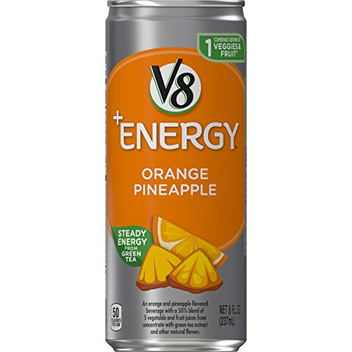 V8 +Energy Orange Pineapple 24-Pack Only $10.34