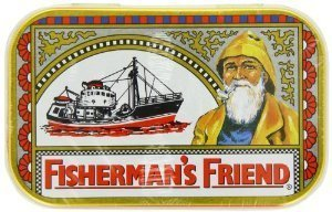 FISHERMANS FRIEND 35 LOZENGES 10MG ORIGINAL EXTRA STRONG (pack of 2) by GREENWOOD BRANDS LLC (35 Lozenges)