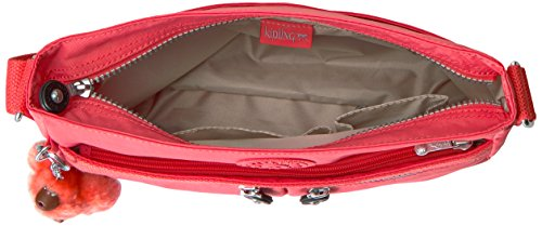 Crossbody Solid Bag Kipling Angie Convertible Papaya T4wPZAq