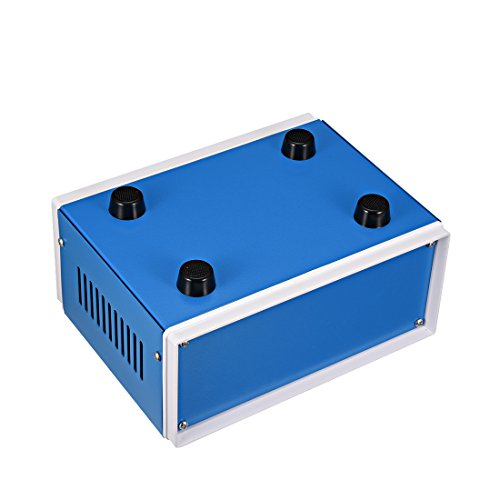 uxcell Metal Blue Project Junction Box Enclosure Case 200 x 165 x 90mm 7.87 x 6.5 x 3.54inch