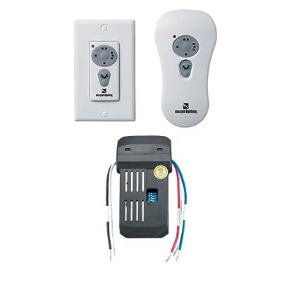 Sea Gull Lighting 16006-15 Combo Remote Control Kit Fluorescent Remotes for Fan, White