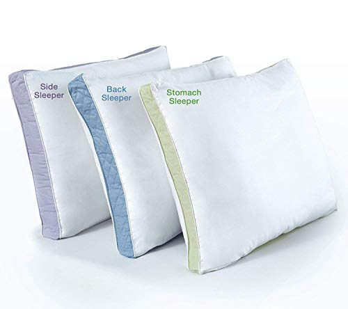 Perfect Fit   Gusseted Quilted Pillow Hypoallergenic, 233 Thread-Count, King, Standard