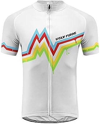 Uglyfrog Verano Hombre Cycling Jersey Maillot Ciclismo Mangas ...