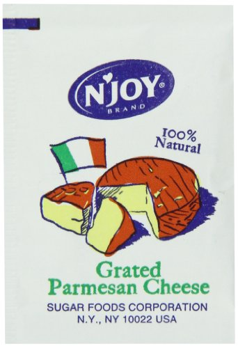 (N'joy Parmesan Cheese Packets, 200 Count )