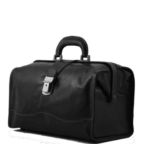 Tuscany Leather , Herren Henkeltasche Schwarz schwarz