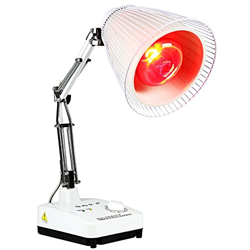 Wgwioo Far Infrared Mineral Heat Lamp With Therapy For Infra-Red Physiotherapy Apparatus For Health And Beauty