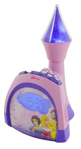 Disney Princess de torre de Reloj radio despertador con ...
