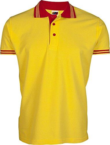 Emilio Fernández Herren Poloshirt Gelb gelb