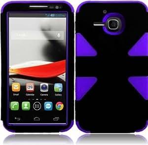 Cerhinu Importer520 (TM) Dynamic Hybrid Tuff Premium Rugged Hard Soft Case Skin Cover For Alcatel One Touch Evolve 5020T...