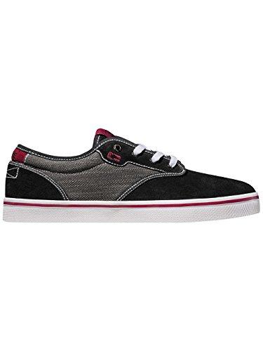 Unisex Motley dark black Erwachsene Sneakers Globe red Cgdqw5C