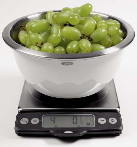 OXO Good Grips Stainless Steel Food Scale with Pull-Out Display, 11-Pound NEWER VERSION AVAILABLE by OXO (Image #6)