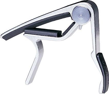Dunlop 88-n Trigger diapasón ancho-niquelada-su forma ergonómica y mango acolchado proporciona una fácil colocación 37088040001