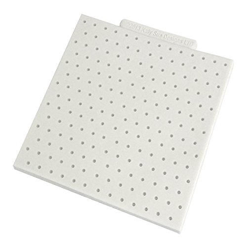 """Price comparison product image Polka Dot 4"""" x 4"""" - Silicone Design Mat for Cake Decorating, Cupcakes, Sugarcraft and Candies"""