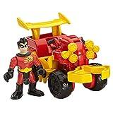 super hero robin fisher price toy - Fisher-Price Imaginext DC Super Friends Streets of Gotham City Robin & ATV