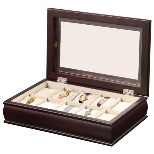 Time Ten Piece Watch Box (10 Piece Watch Box)